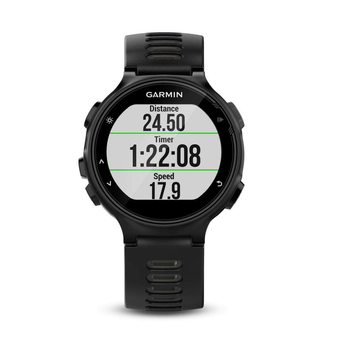 Bild 1 von GPS-Pulsuhr Forerunner 735 XT HF-Messung am Handgelenk schwarz