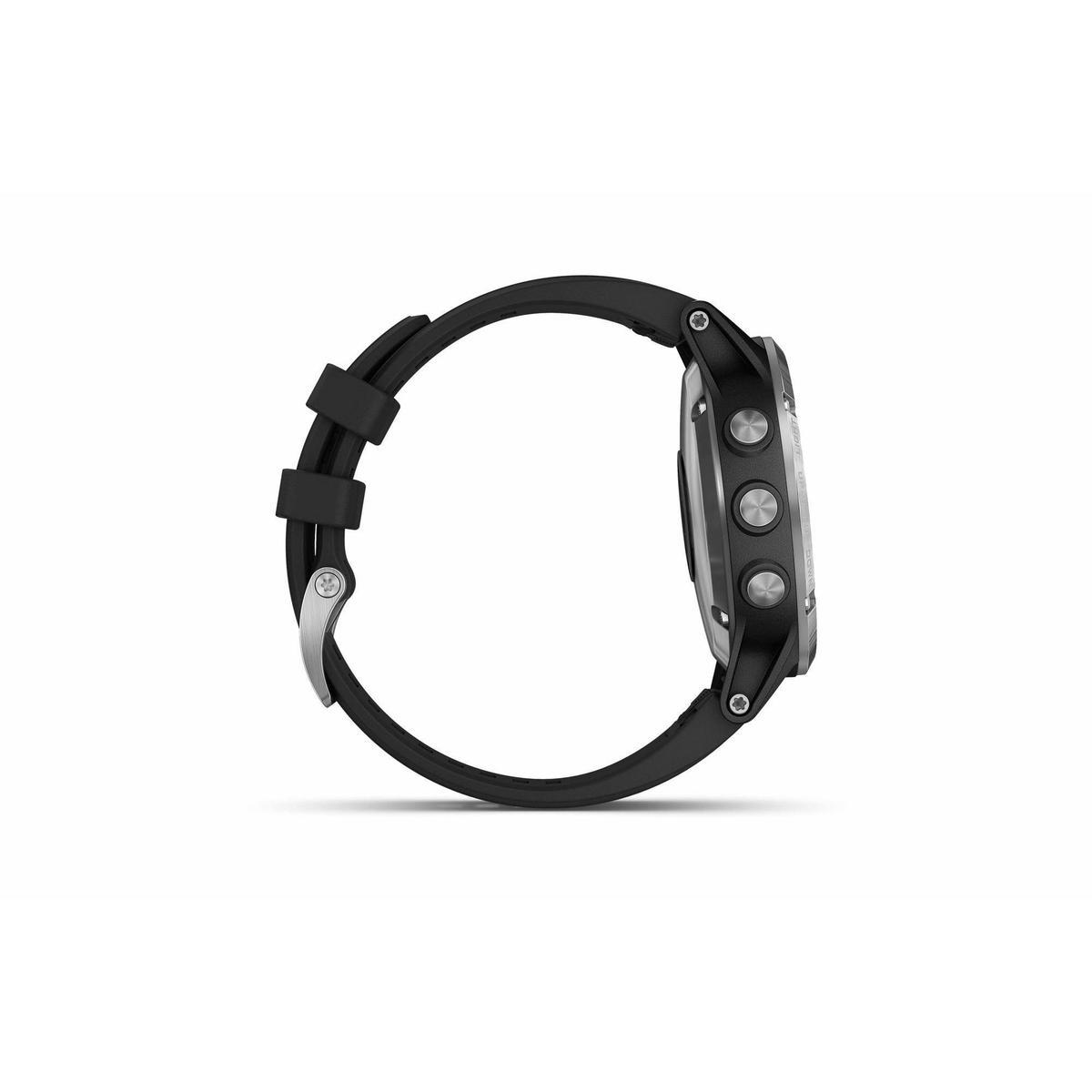 Bild 5 von GPS-Pulsuhr und Musikplayer Cardio Fenix 5 Plus Multisport silber