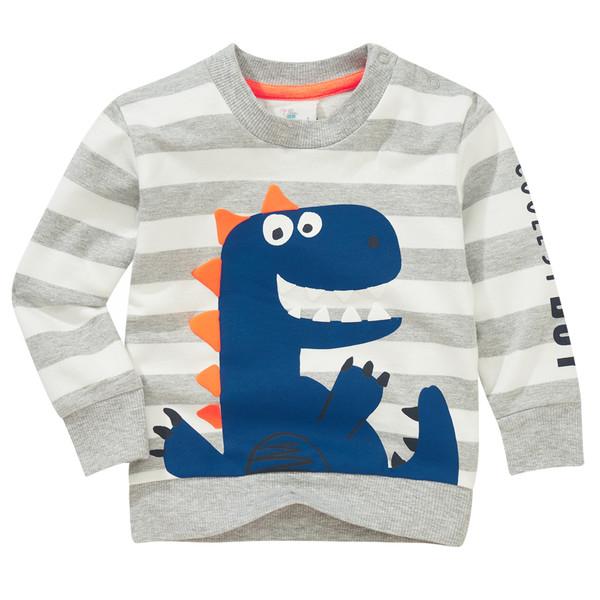Baby Sweatshirt mit Dino-Print