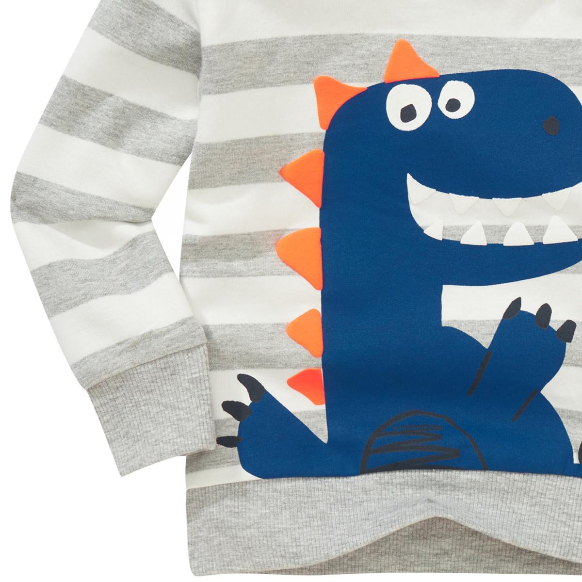 Bild 4 von Baby Sweatshirt mit Dino-Print