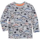 Bild 1 von Baby Langarmshirt mit Dino-Print
