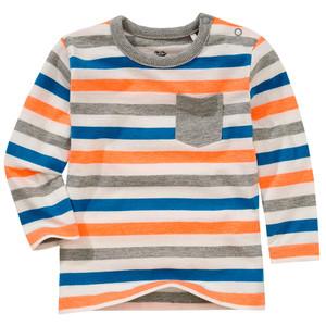 Baby Langarmshirt im Streifen-Design