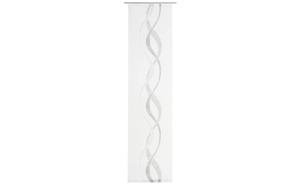 Gözze - Schiebevorhang Pascal in weiß-schwarz, 60 x 245 cm