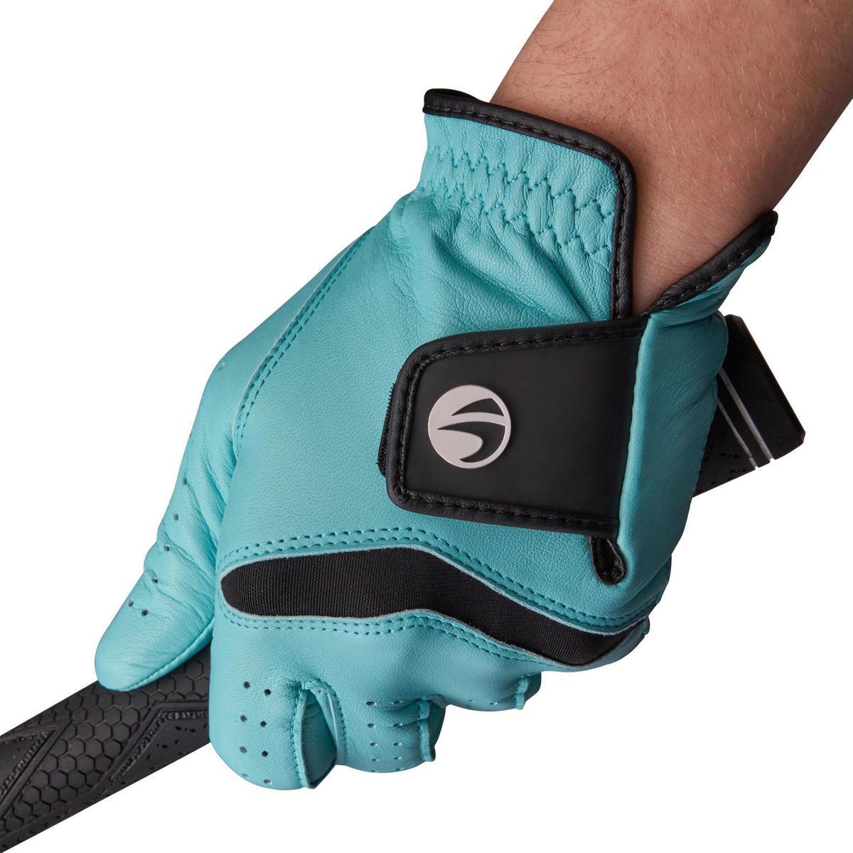 Bild 2 von Golfhandschuh 500 Rechtshand (für die linke Hand) Damen blau