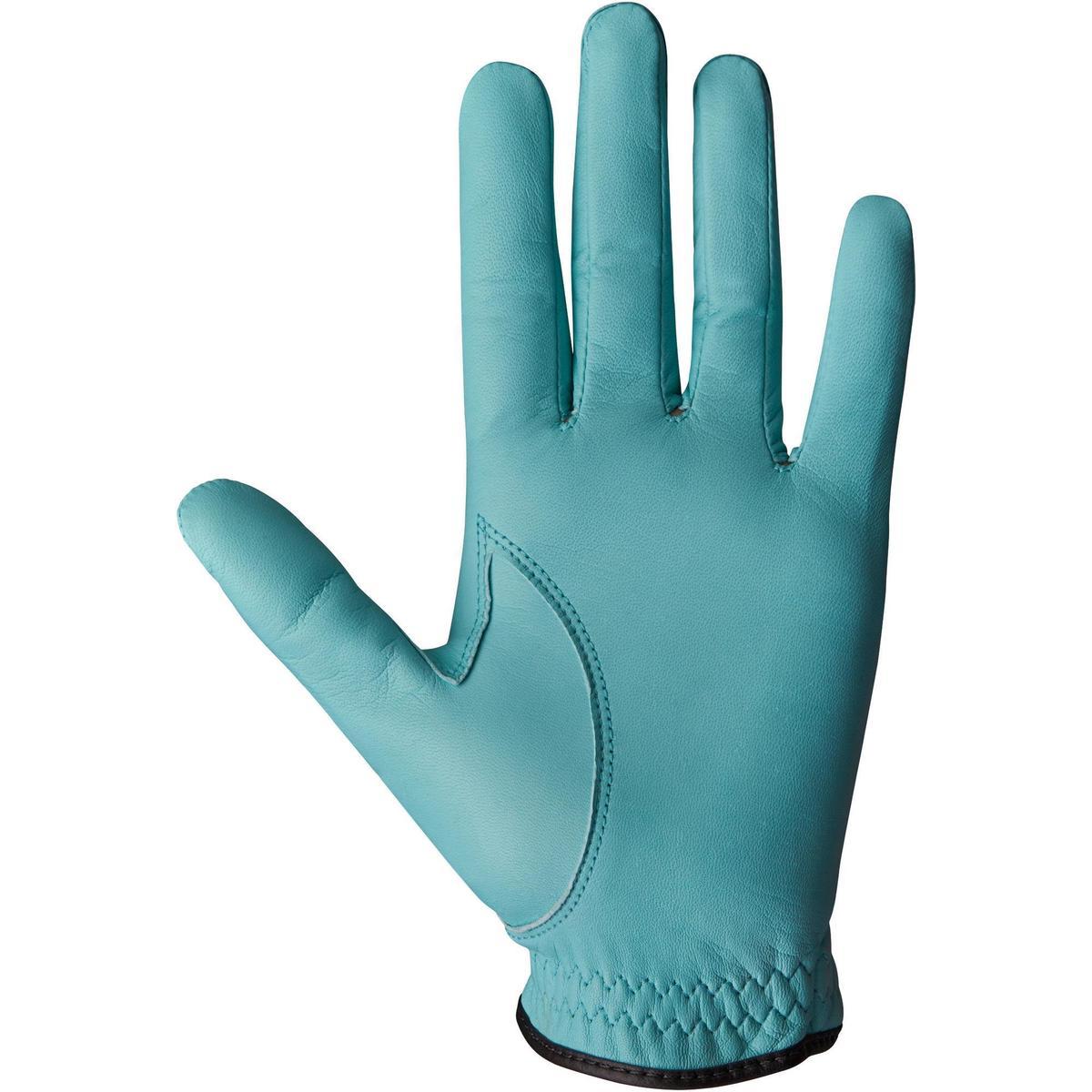 Bild 4 von Golfhandschuh 500 Rechtshand (für die linke Hand) Damen blau