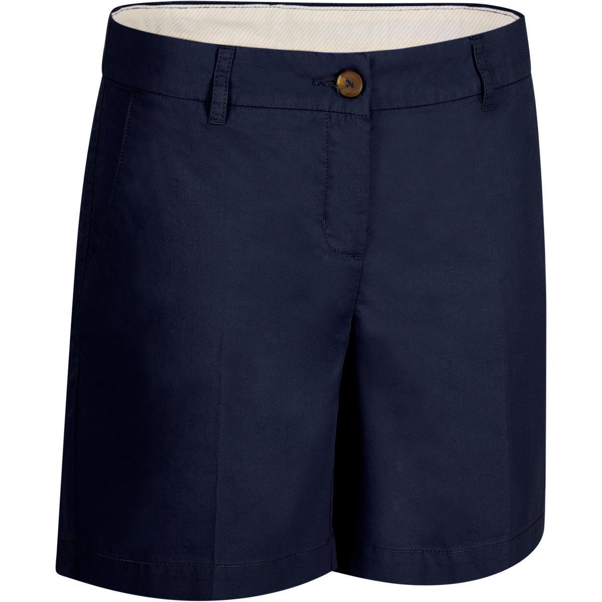 Bild 1 von Golf Bermuda Shorts 500 Damen marineblau