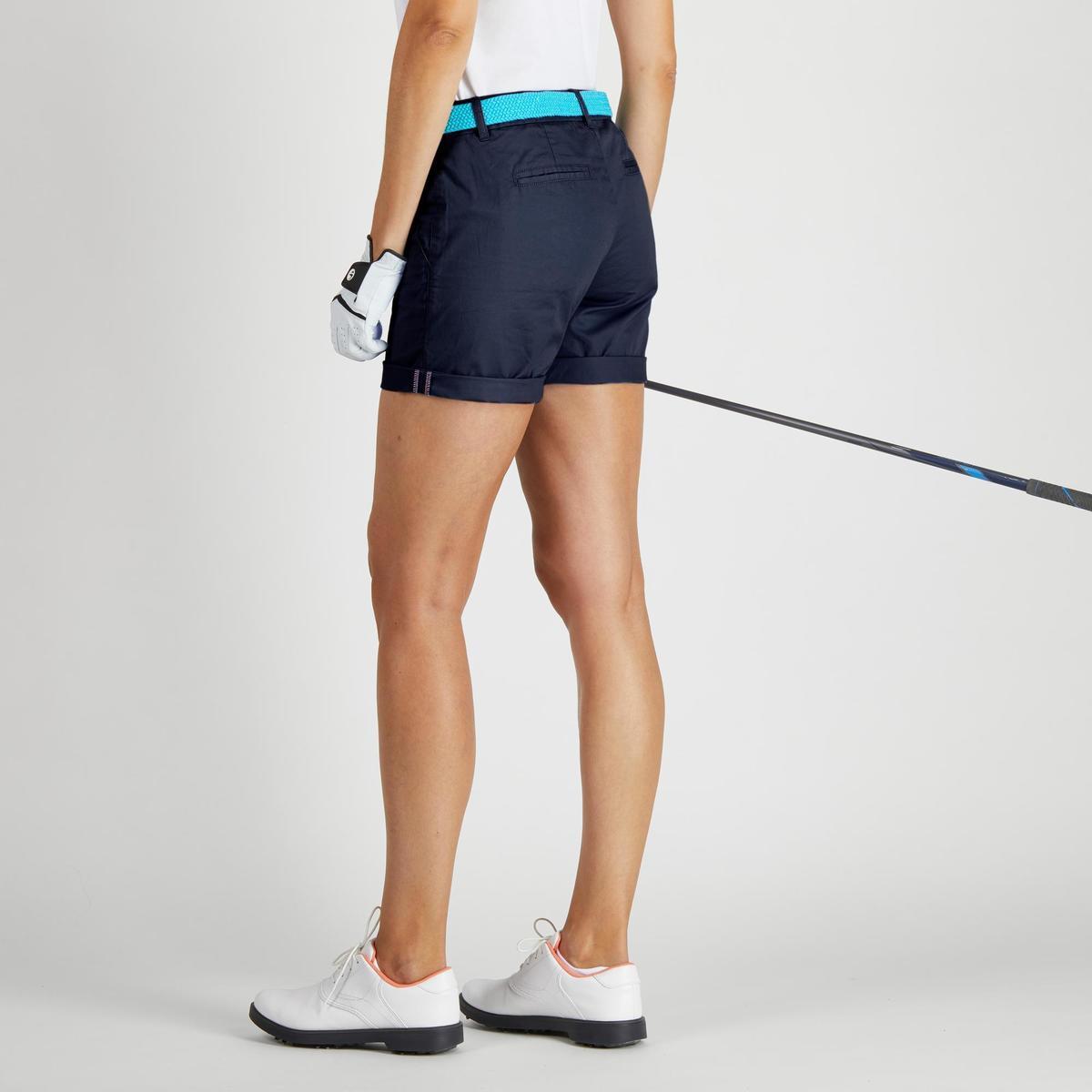 Bild 5 von Golf Bermuda Shorts 500 Damen marineblau