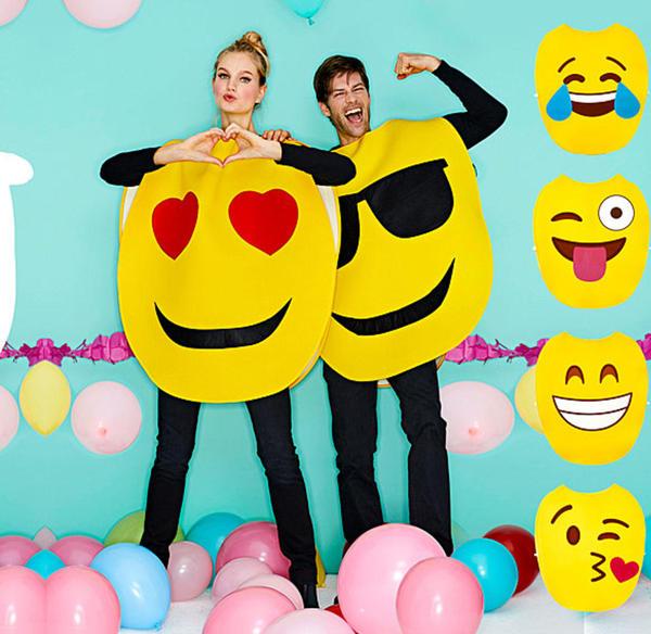 Smile-Kostüm für Erwachsene in verschiedenen Ausführungen