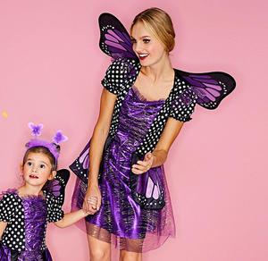 Schmetterling-Kostüm für Erwachsene mit hübschen Flügeln
