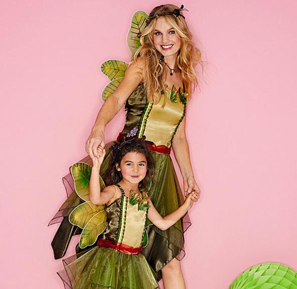 Waldelfen-Kostüm für Erwachsene mit Flügeln