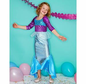 Meerjungfrau-Kinderkostüm
