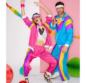 80er-Jahre-Kostüm für Erwachsene