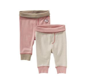 Liegelind Baby-Mädchen-Hose mit Komfort-Bund, 2er Pack