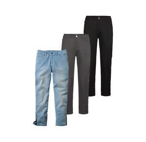 Laura Torelli Classic Damen-Jeans mit Reißverschluss am Beinabschluss