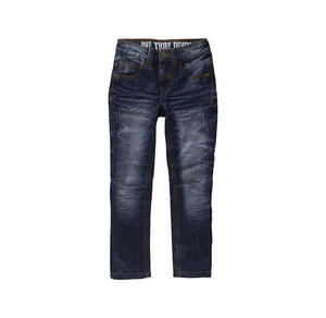 Kids Jungen-Jeans mit Destroy-Effekten