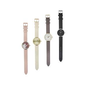 Damen-Armbanduhr in eleganten Herbstfarben