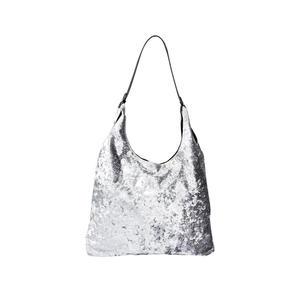 Damen-Handtasche in Samt-Optik
