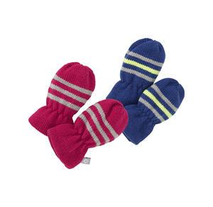 Baby-Handschuhe mit schicken Streifen