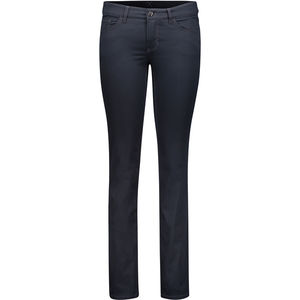 Mac Damen Stretch-Satin Hose, Straight Leg