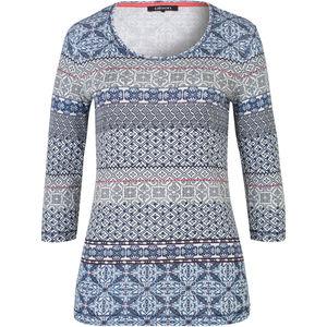 Olsen Damen Shirt mit Print, 3/4-Arm