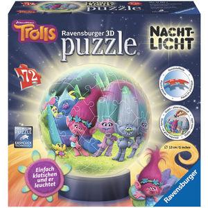 Ravensburger 3D Puzzle Dreamworks Trolls Nachtlicht