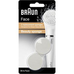 Braun Ersatzbürsten SE80-b für Gesichtsreinigungsbürste Face 810, Beauty