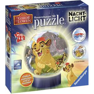 Ravensburger 3D Puzzle Nachtlicht: Der König der Löwen, 72 Teile