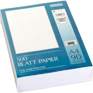 System A4 Papier für Inkjetprinter, 500 Blatt