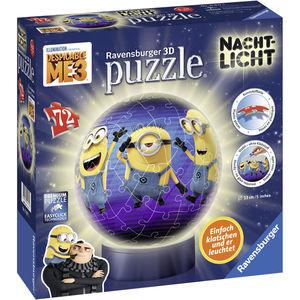 Ravensburger 3D Puzzle Nachtlicht: Ich - Einfach unverbesserlich, 72 Teile