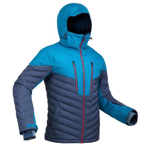Skijacke Piste 900 Warm Herren marineblau