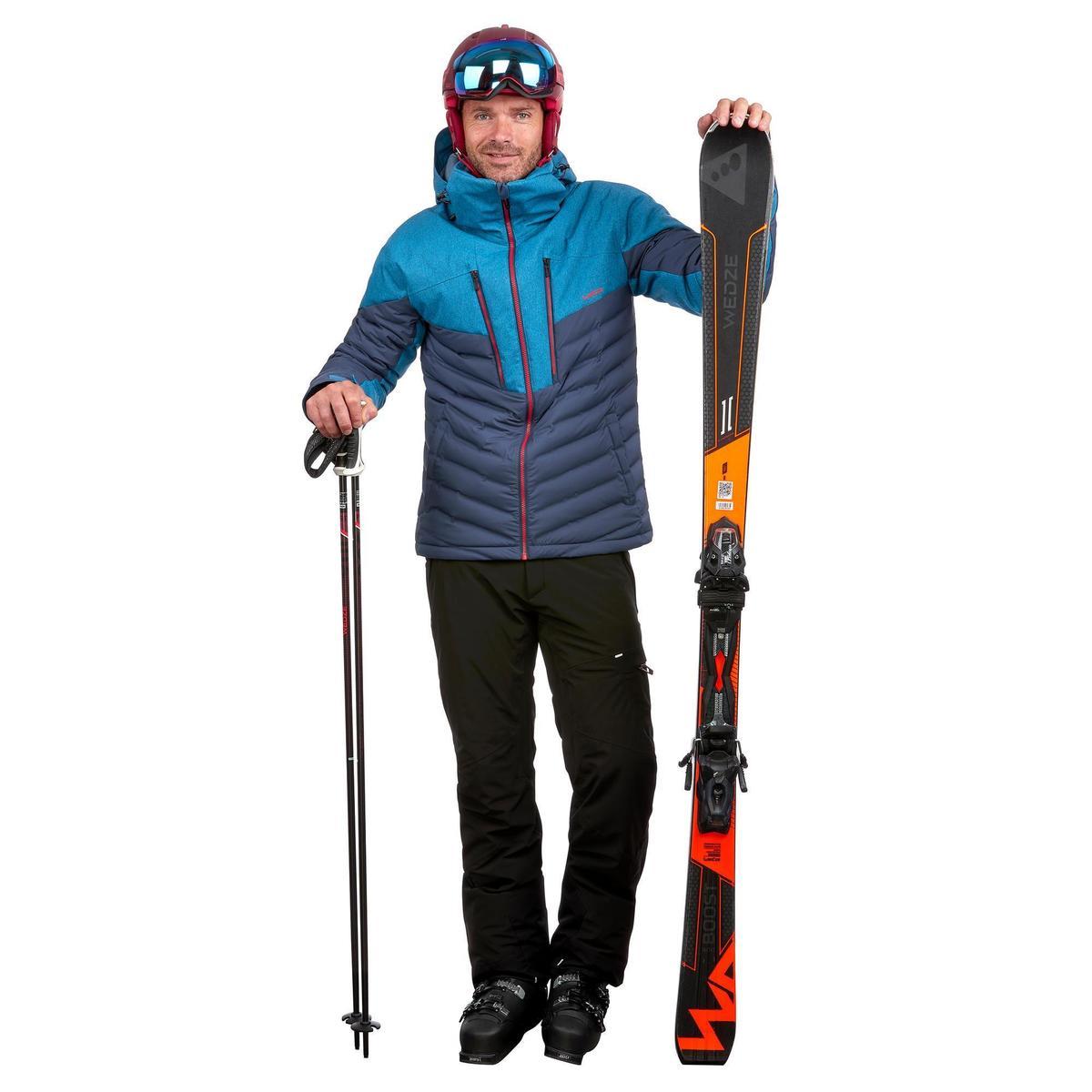 Bild 2 von Skijacke Piste 900 Warm Herren marineblau