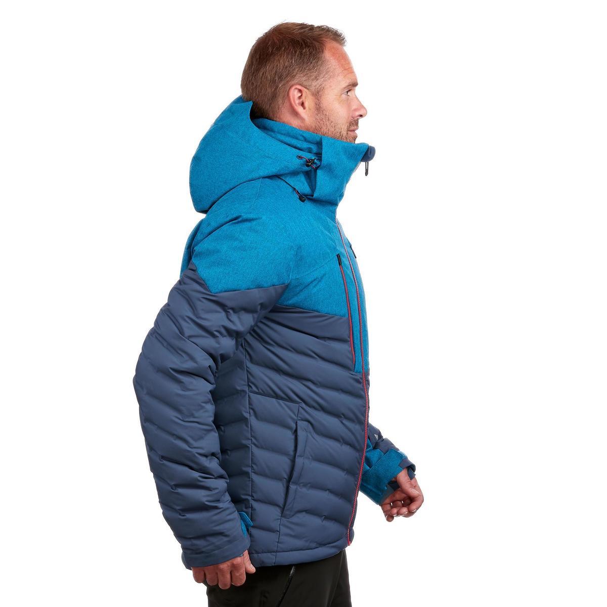 Bild 4 von Skijacke Piste 900 Warm Herren marineblau