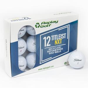Golfbälle Nxt Recycled 12 Stück weiß