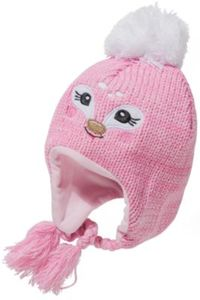 Baby Bommelmütze Gr. 42-44 Mädchen Baby
