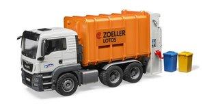MAN TGS Müllwagen orange