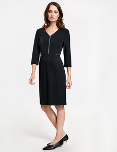 Kleid mit Frontzip