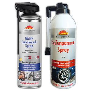 Carfit Professional Multifunktions-/ Reifenpannen-Spray