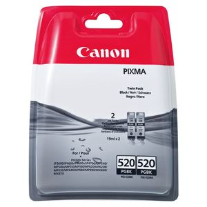 Canon Tintenpatrone PGI 520BK Twinpack