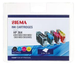 Sigma Tintenpatronen Multipack H36