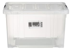 Tarrington House Clear Box mit Deckel Transparent