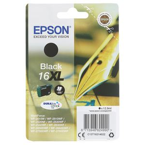 Epson Tintenpatrone T1631XL Schwarz