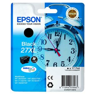 Epson Tintenpatrone T27XL Schwarz