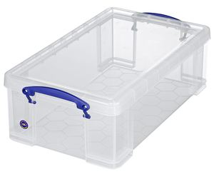 Really Useful Products Aufbewahrungsbox 12 l Transparent