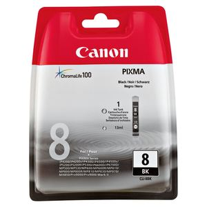 Canon Tintenpatrone CLI8 BK