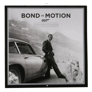 Fankalender, 2019, James Bond, 30 x 30 cm