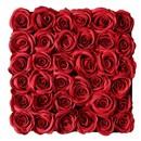 Bild 2 von Rosenbox, 36 Stück, 30 x 25 x 30 cm, rot