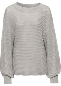 Oversized Lochstrick-Pullover
