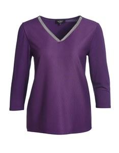 Bexleys woman - Shirt mit Verzierung am Ausschnitt