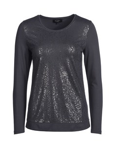 Bexleys woman - Shirt mit Silberdruck