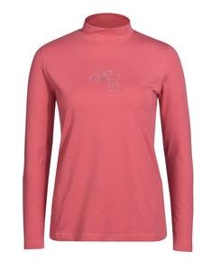 Bexleys woman - Shirt mit kleinem Stehkragen